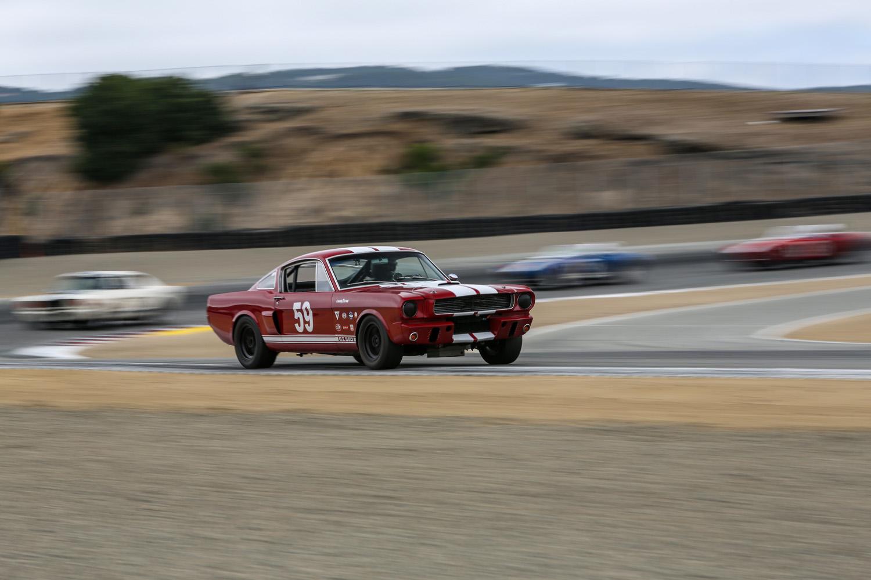 Wheel-to-wheel historic racing at Laguna Seca thumbnail