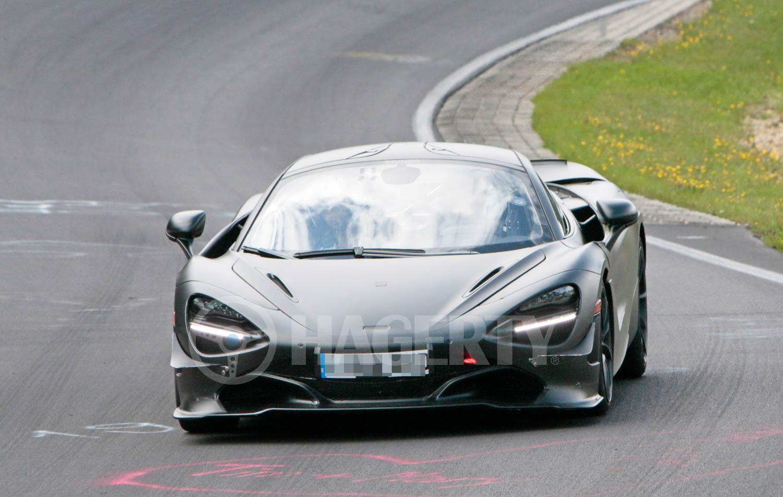 McLaren 750LT Mule