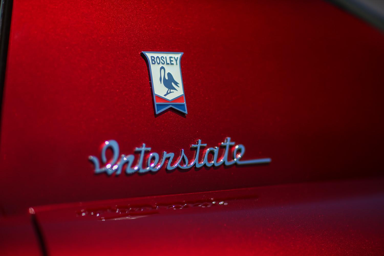Bosley Interstate Emblem