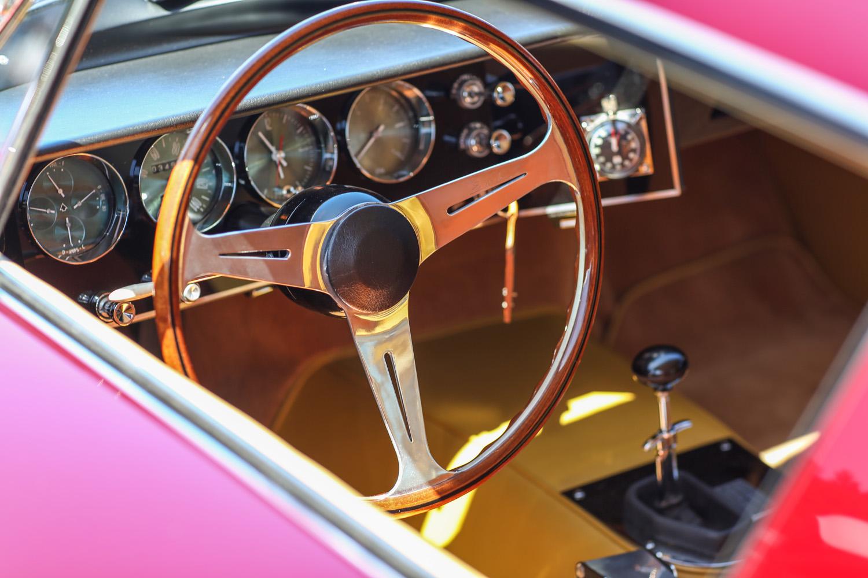 Bosley Interstate steering wheel gauges