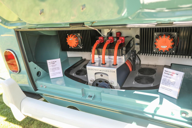 Zelectric bus motor
