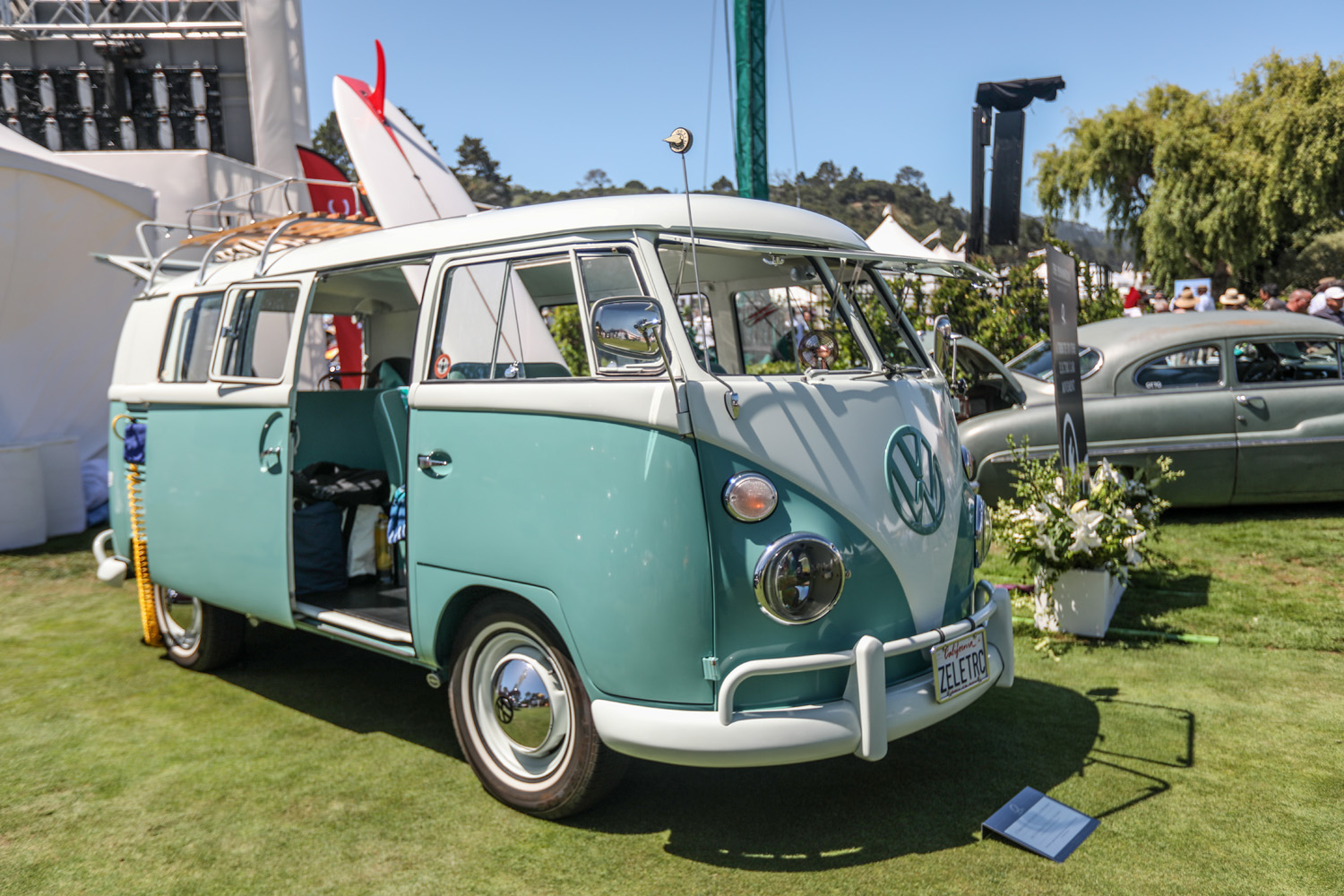 Zelectric VW bus