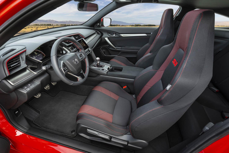 2020 Honda Civic Si Coupe interior