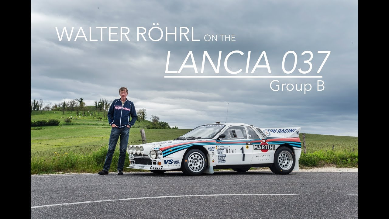 Two legends reunited: Walter Röhl behind the wheel of the Lancia 037 thumbnail