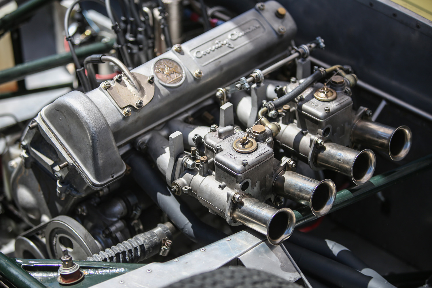 Coventry Climax Weber Carbs