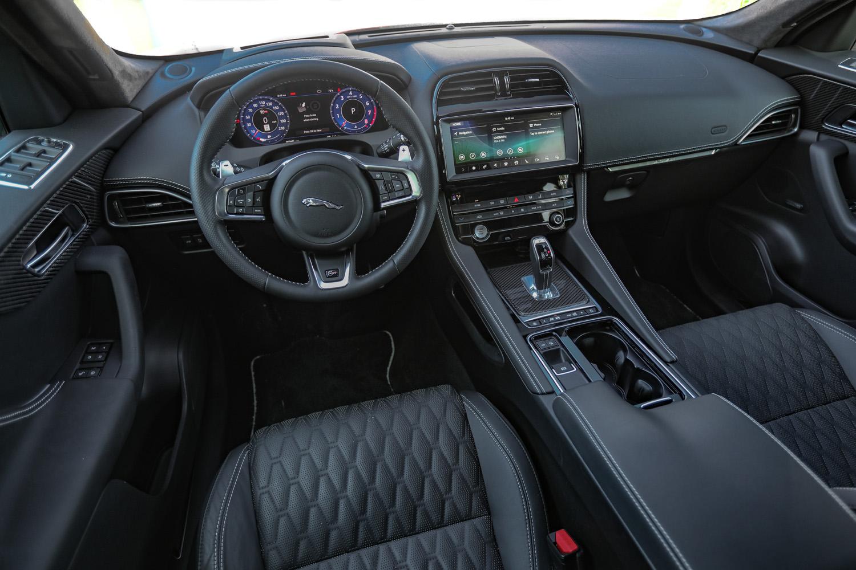 2019 Jaguar F-Pace SVR interior