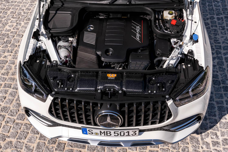 2021 Mercedes-AMG GLE 53 Coupe engine