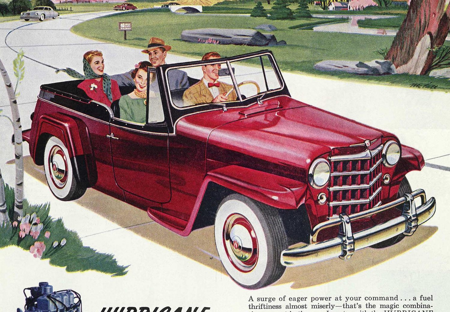 jeep history jeepster 1940s