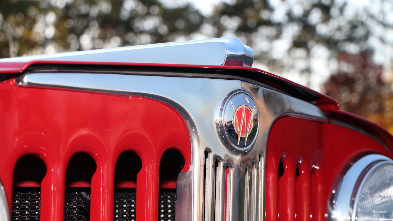 Willys Jeepster Grille