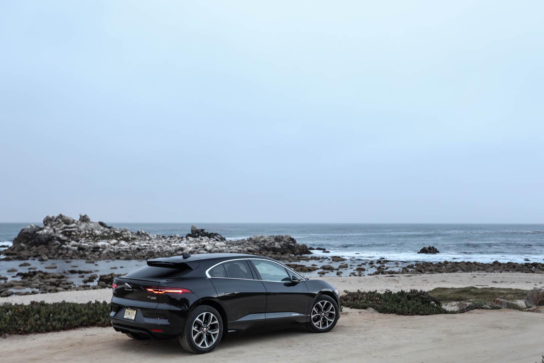 Jaguar I-Pace rear