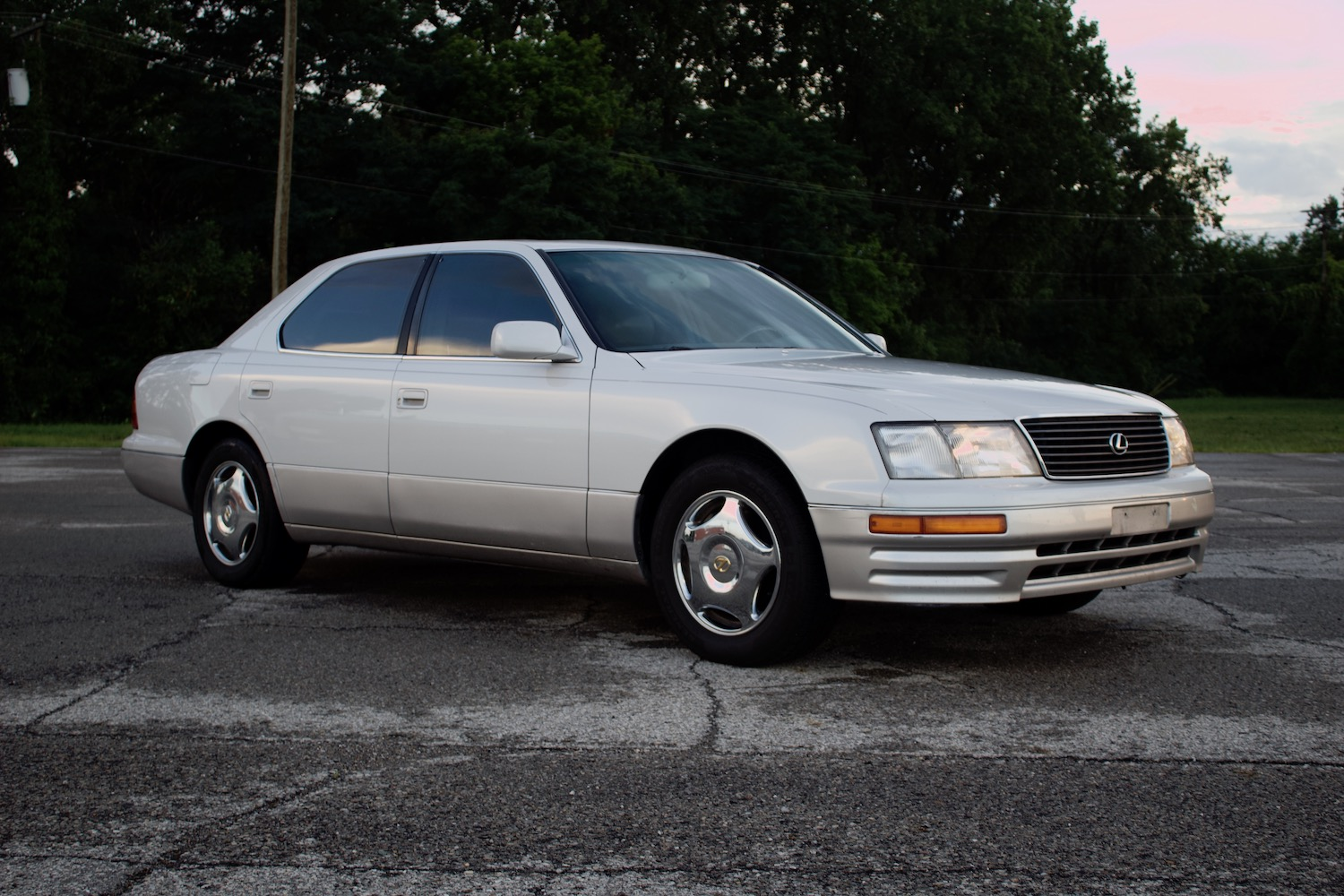 Almost 20 years later, the LS400 is still king of cross-country luxo cruising thumbnail