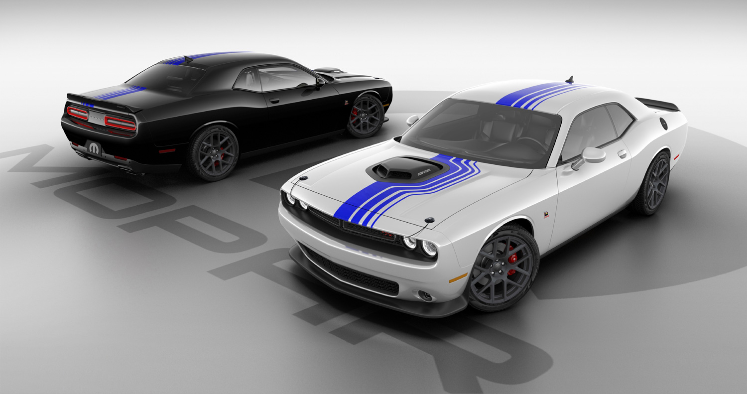 Mopar celebrates a decade of factory-vehicle customization with the unveiling of the Mopar '19 Dodge Challenger. Based on the 2019 Dodge
