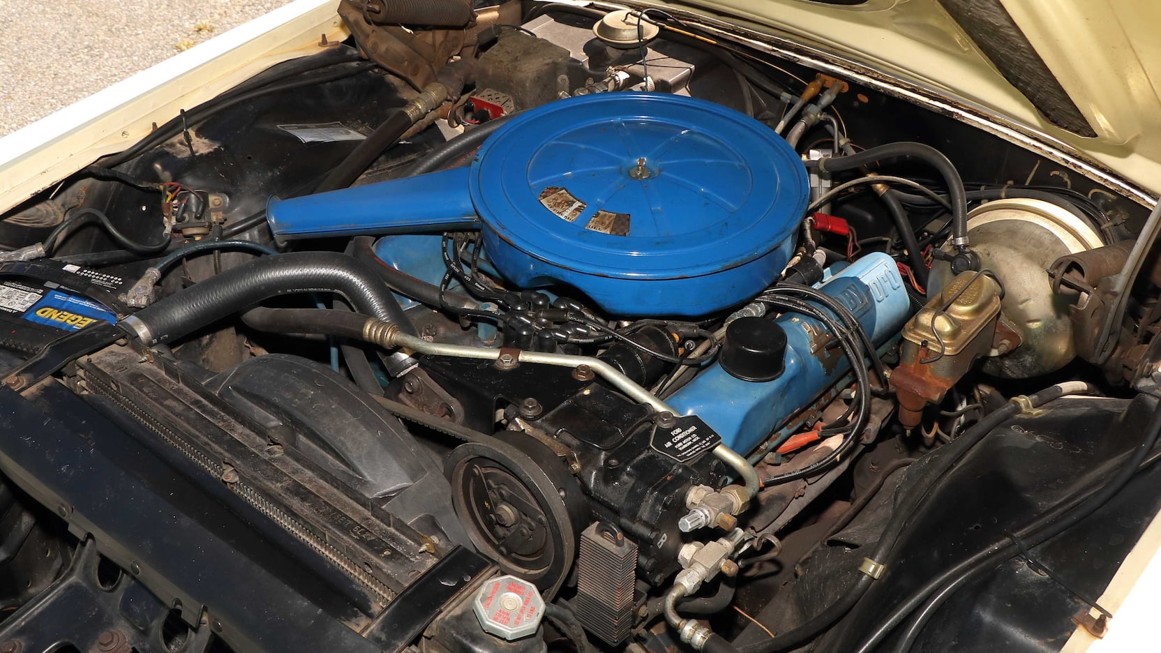 1967 Ford Thunderbird engine