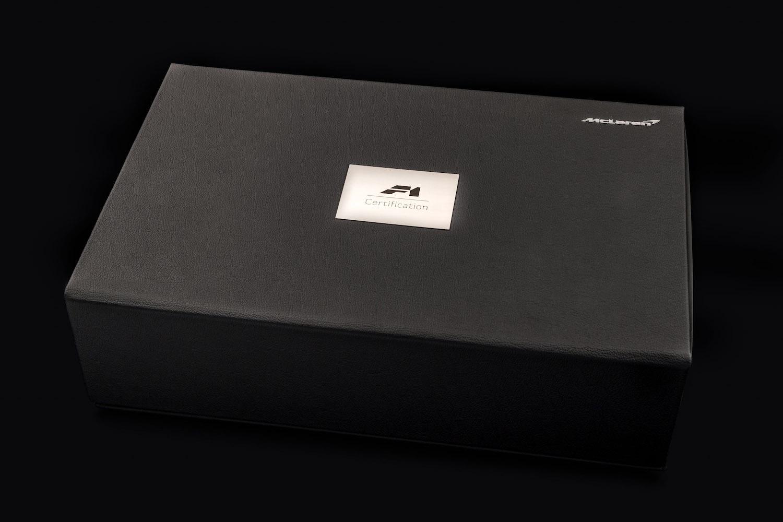 McLaren Cert Book
