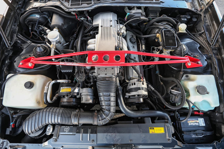 Pontiac Formula TPI engine
