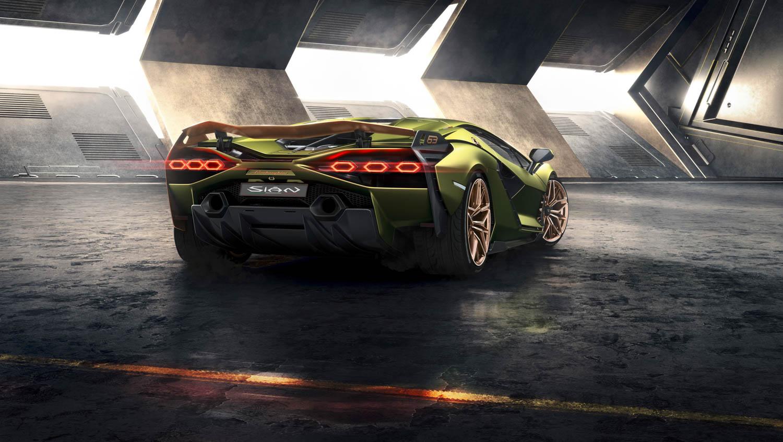 Lamborghini Sián rear