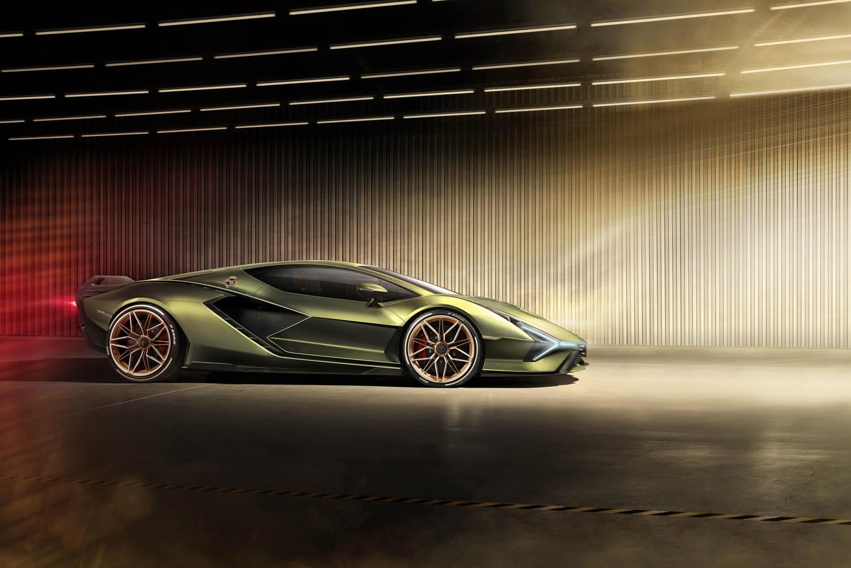 Lamborghini Sián profile