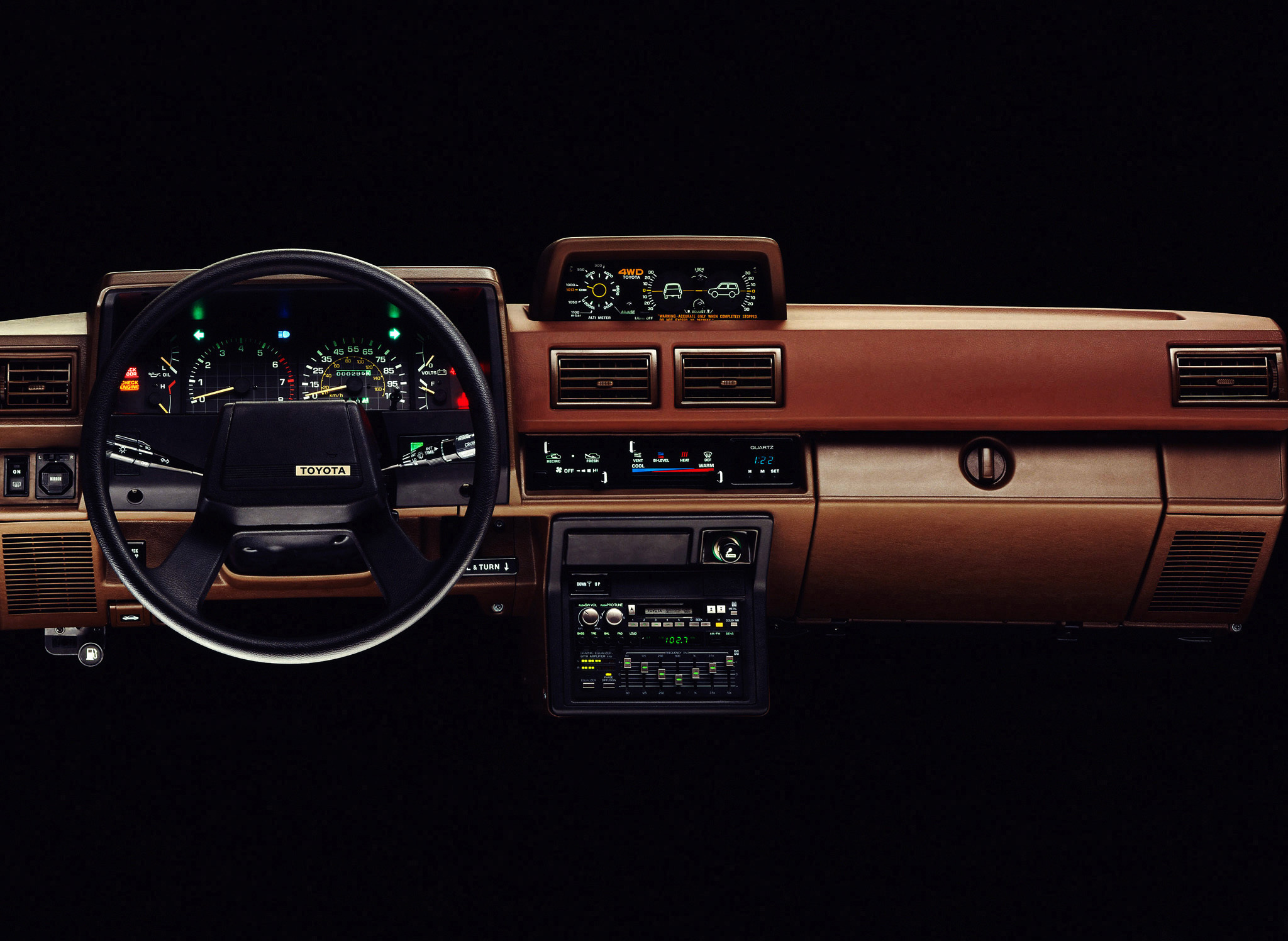 1984 Toyota 4Runner dash
