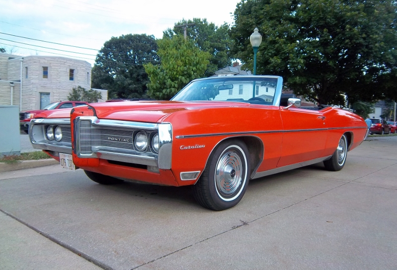 "The 1969 Pontiac Catalina Convertible Defined ""living"