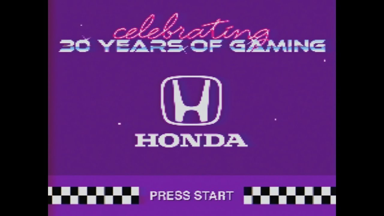 Honda compiled its entire video game racing history into 15 seconds thumbnail