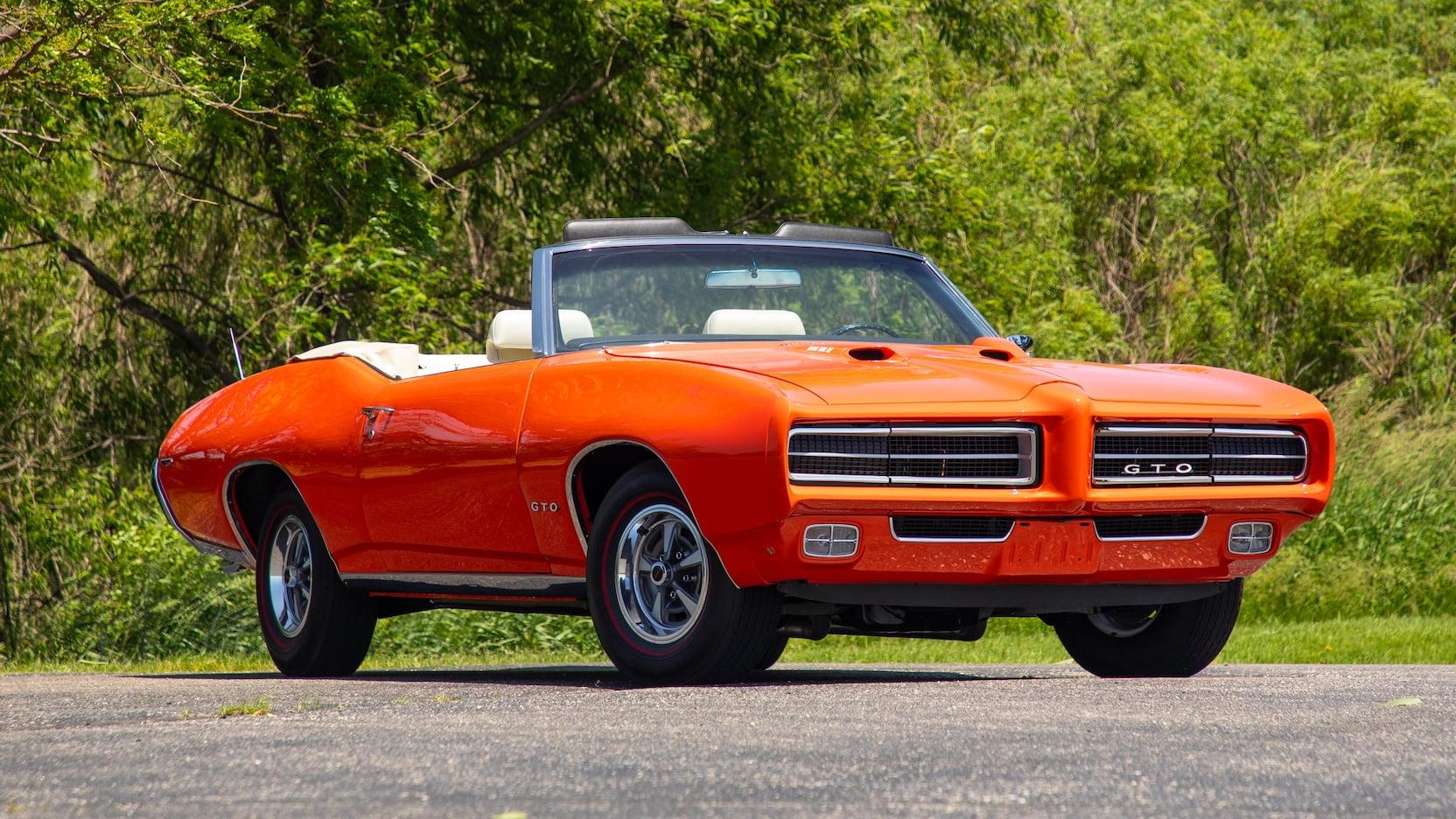 1969 Pontiac GTO Rram Air IV convertible
