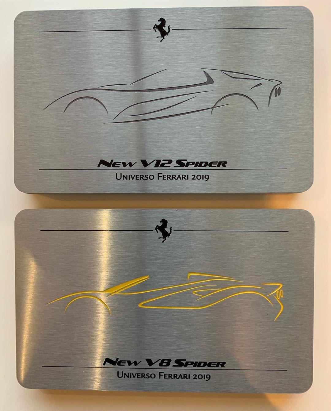 Ferrari V-12 and V-8 Spiders