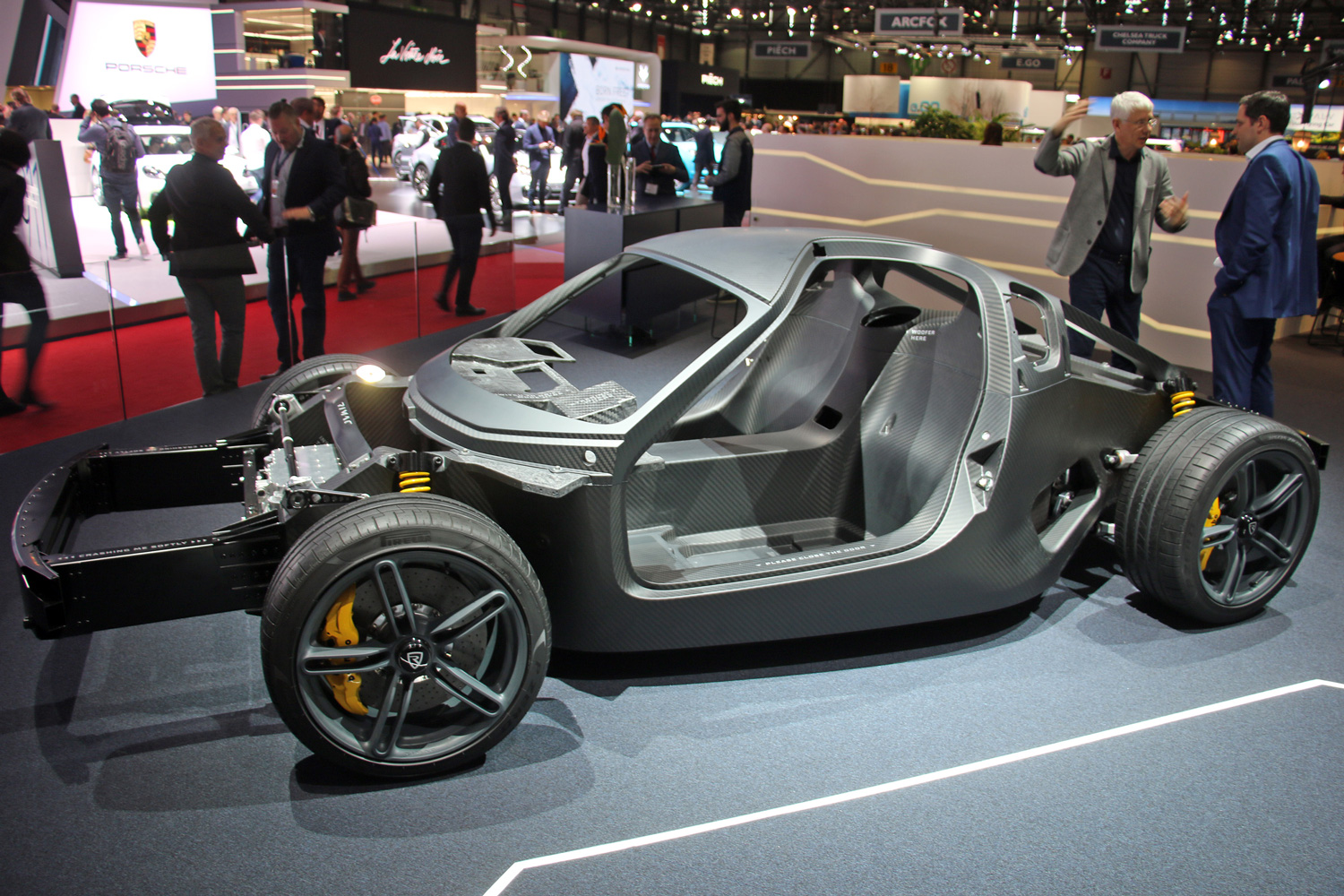 Rimac chassis