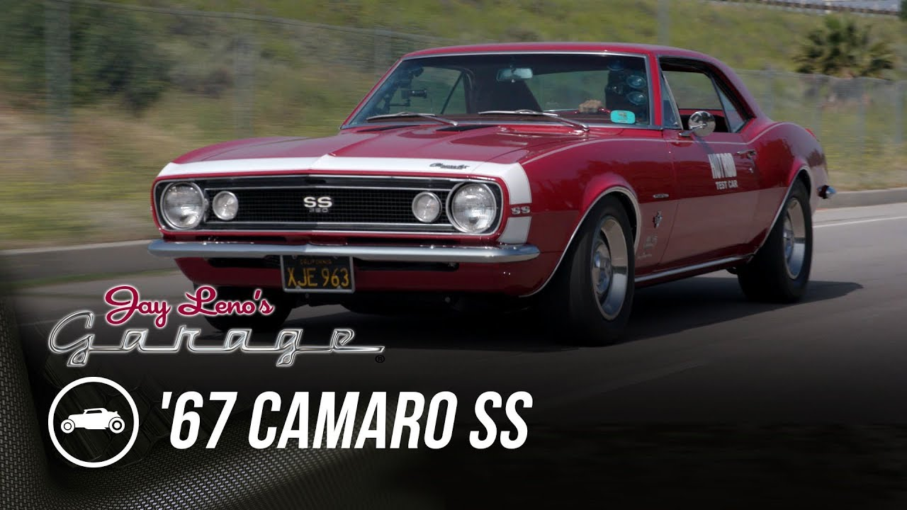 Jay Leno drives the original Hot Rod test '67 Camaro thumbnail
