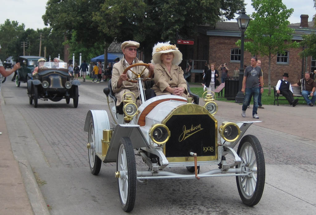 Travel back in time at The Henry Ford's Old Car Festival