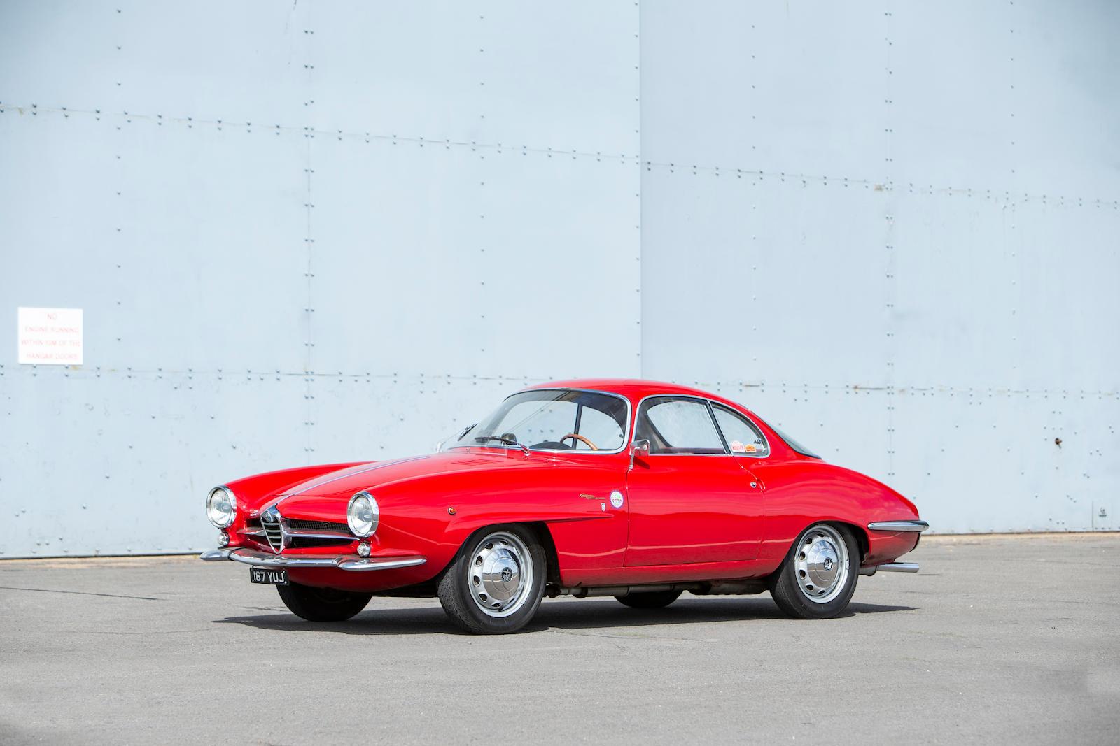 1961 Alfa Romeo Giulietta Sprint Speciale Coupé