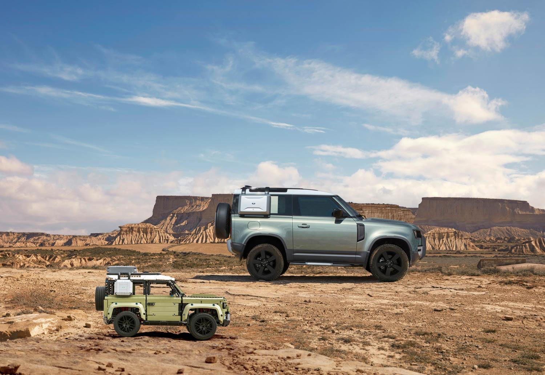 Land Rover defender LEGO