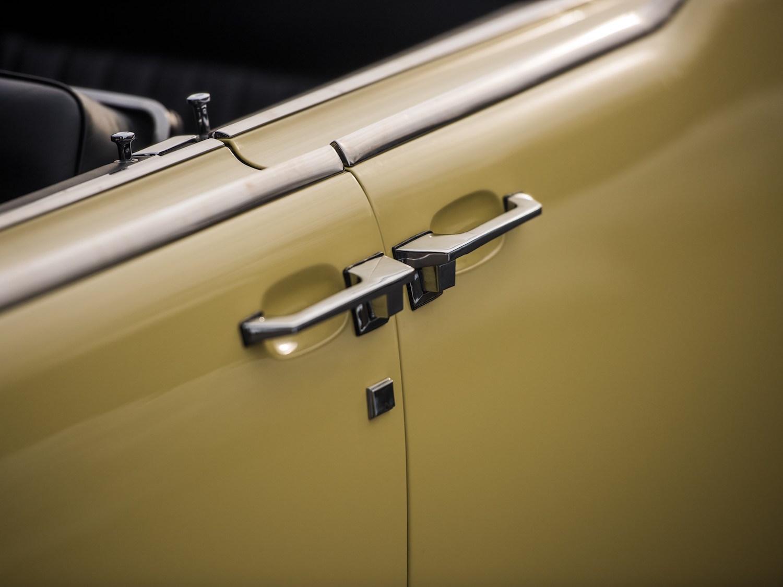1961 Lincoln Continental Four Door Convertible Door Handles
