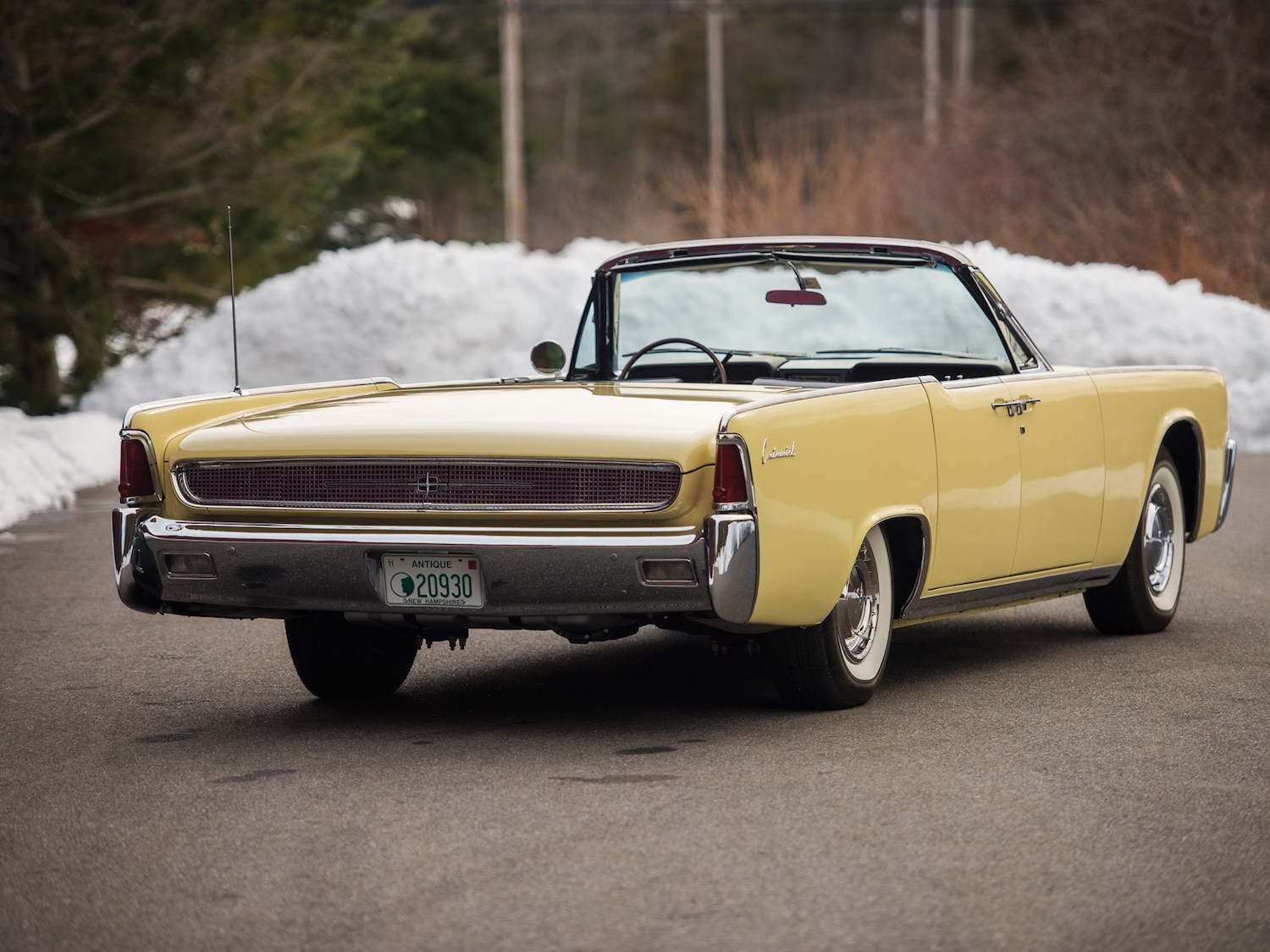 1961 Lincoln Continental Four Door Convertible