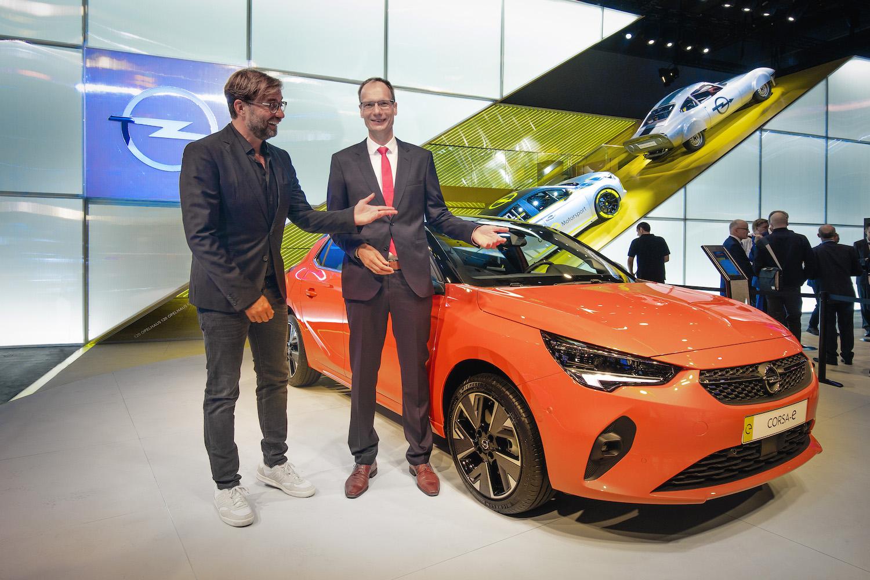 Opel Michael Lohscheller Juergen Klopp