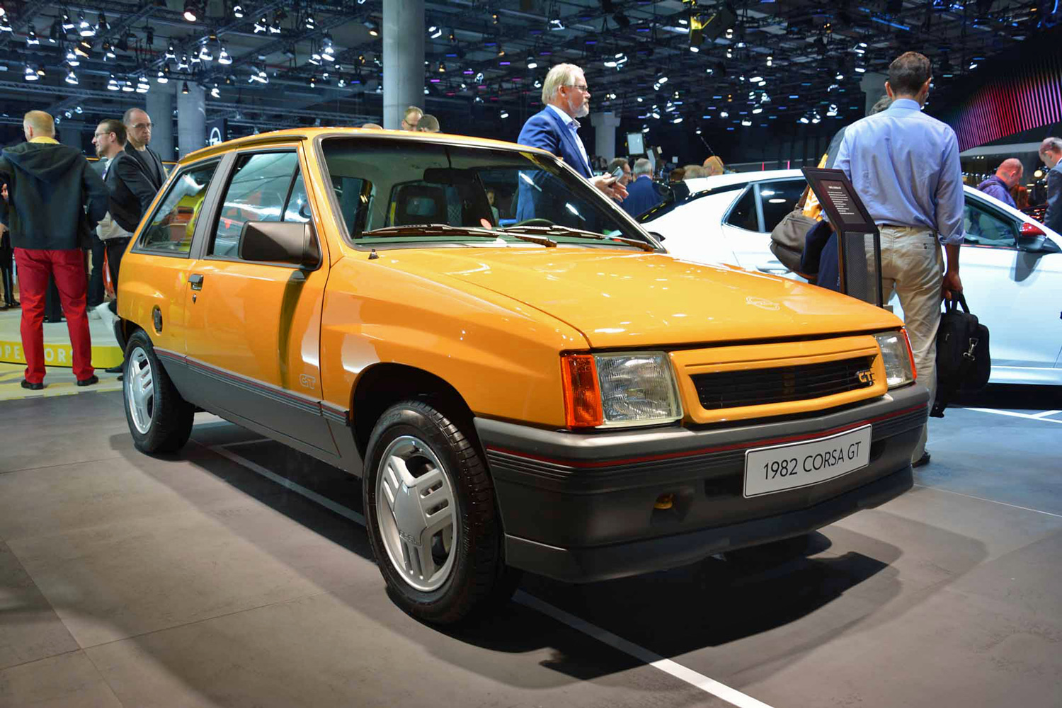 A 1987 Opel Corsa GT at the 2019 Frankfurt Motor Show: How did we get here?
