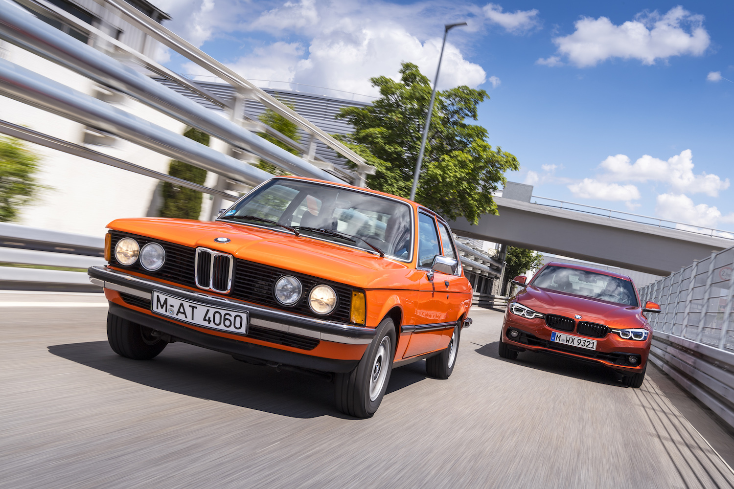 The 1977–83 BMW 320i is climbing