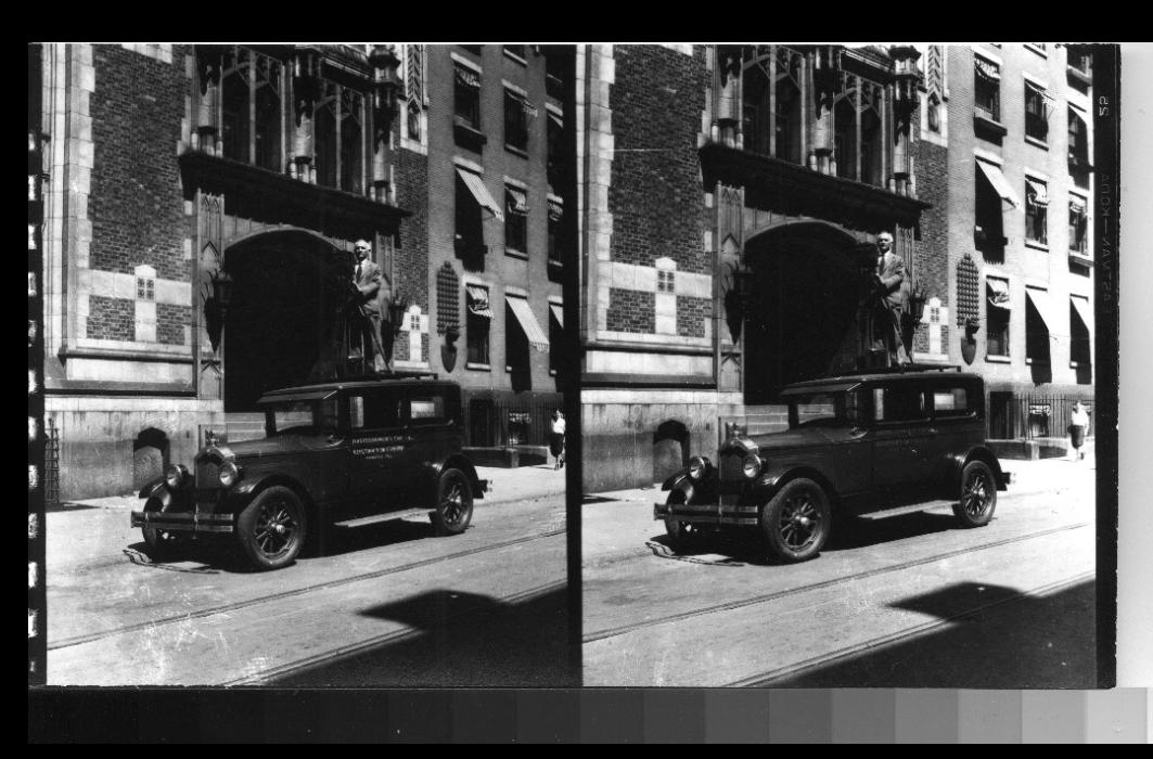 keystone camera car with p brigandi photographer