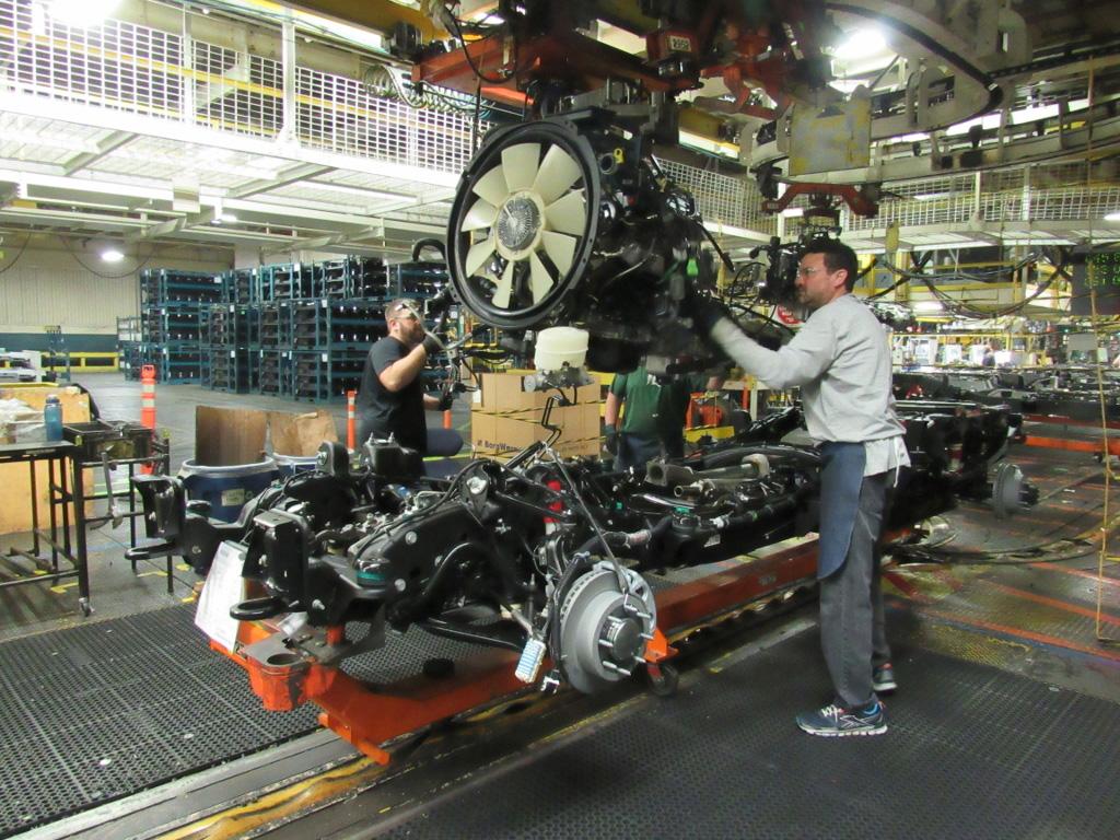 Flint Assembly Duramax Diesel Engine