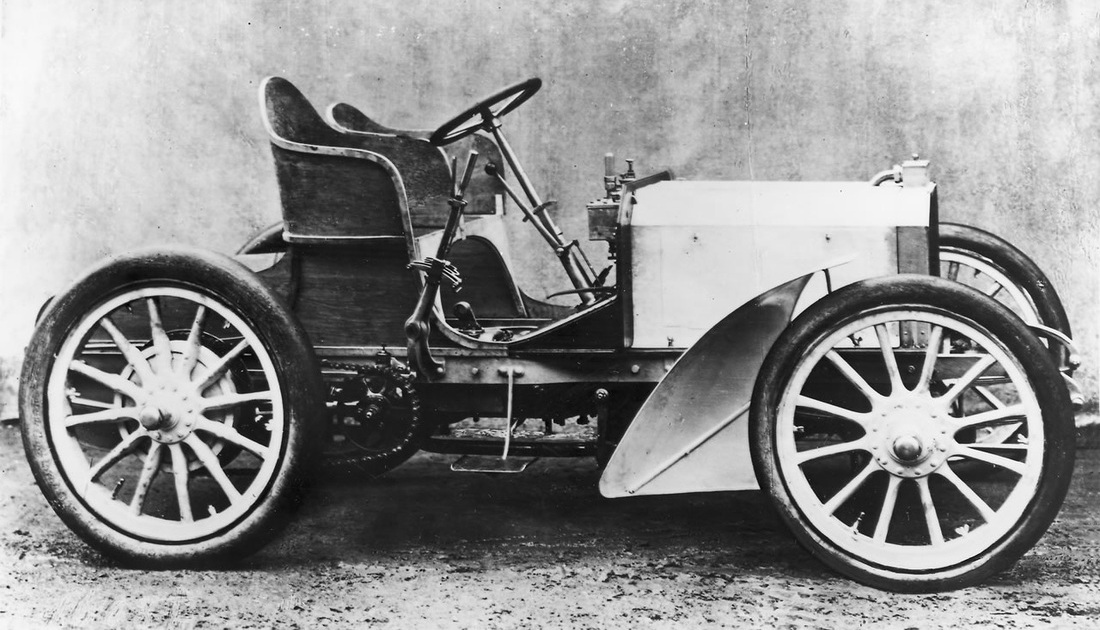 Mercedes 35hp by Wilhelm Maybach
