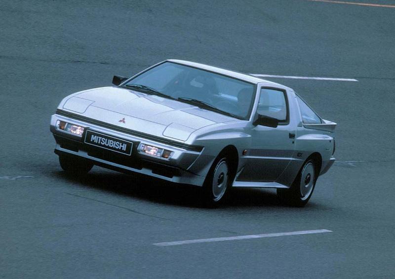 1987 Mitsubishi Starion
