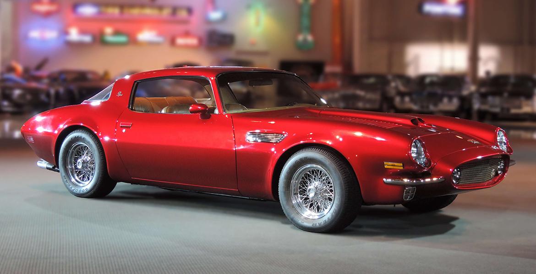 A mythical combination: The Pontiac Pegasus has a Ferrari heartbeat