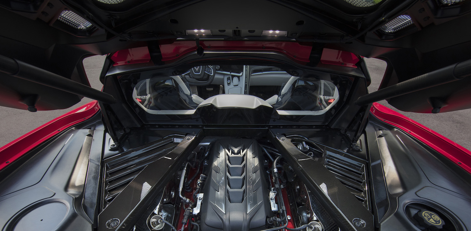 The engineering brilliance behind the C8 Corvette's LT2 V-8
