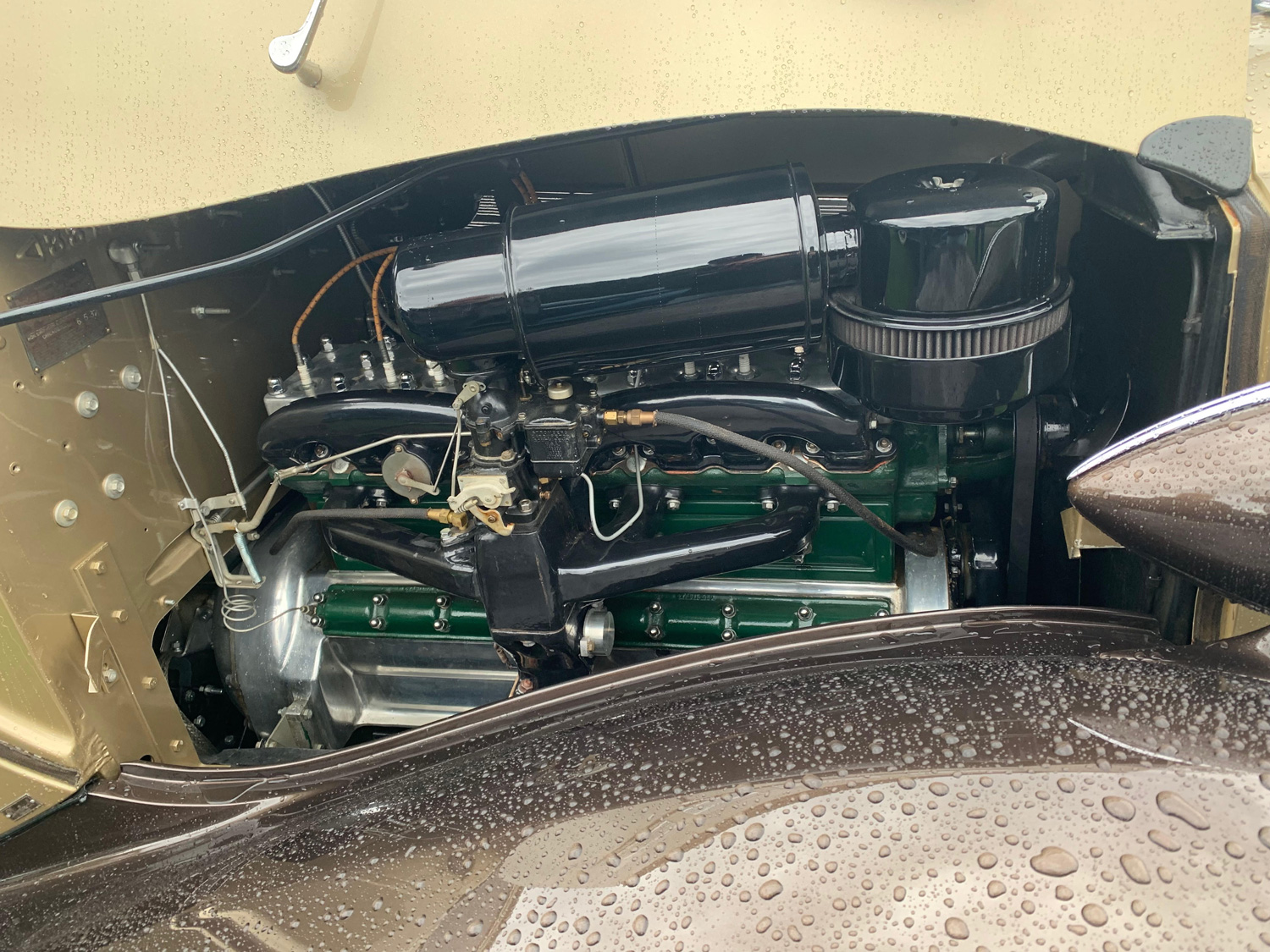 super eight engine bay