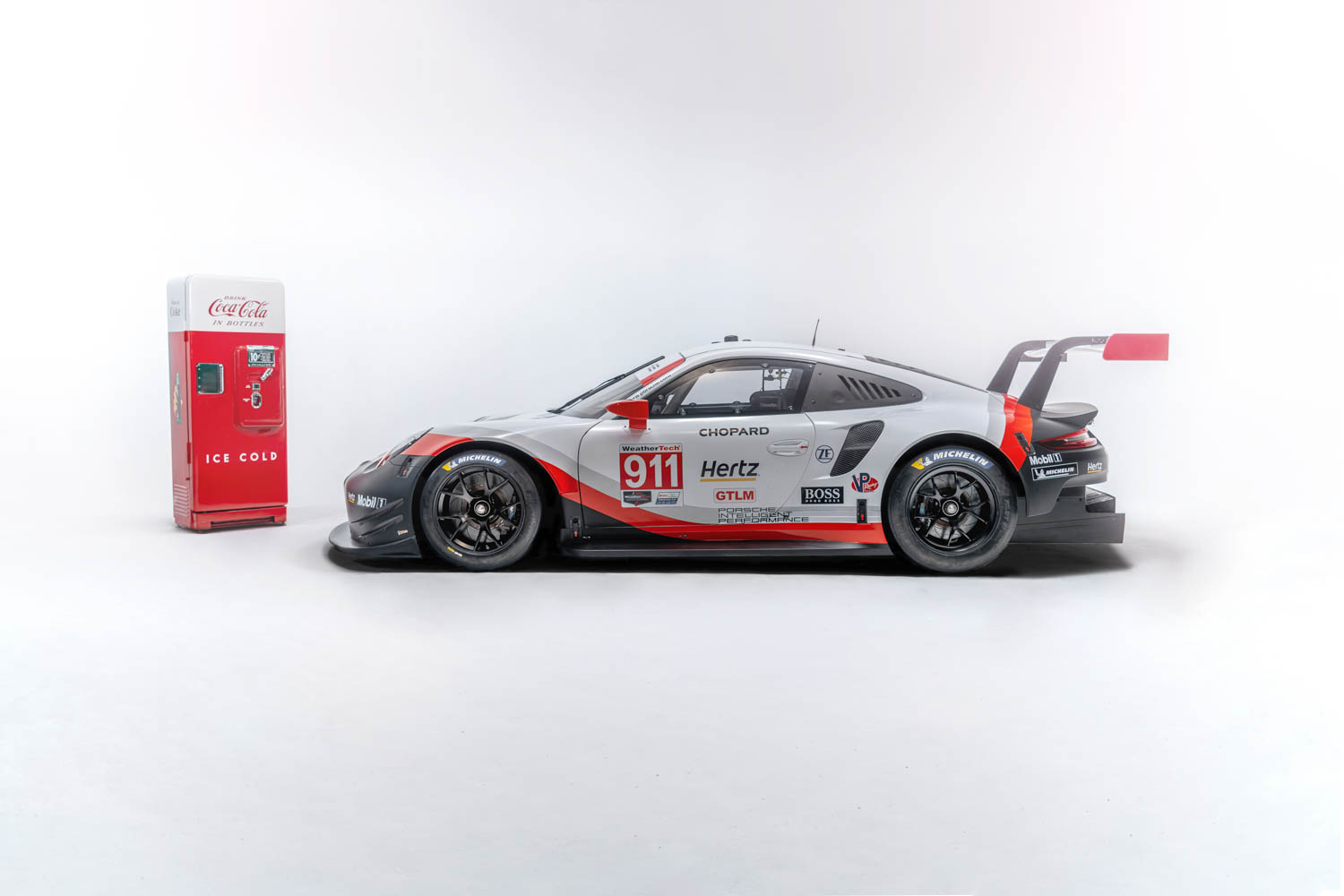 Porsche set to run Petit Le Mans with Coke livery