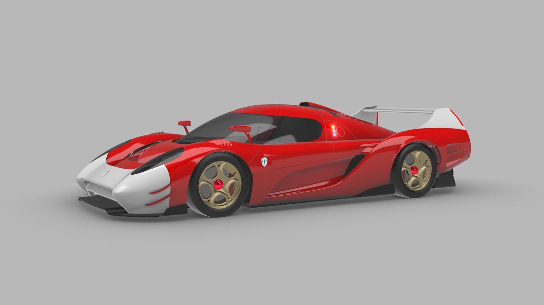 Glickenhaus' LMP1 hypercar, the SCG 007