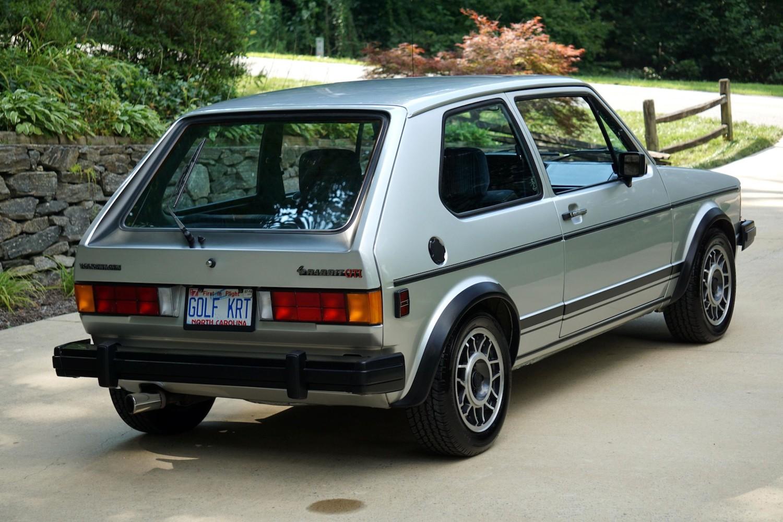 1983 Volkswagen Rabbit GTI
