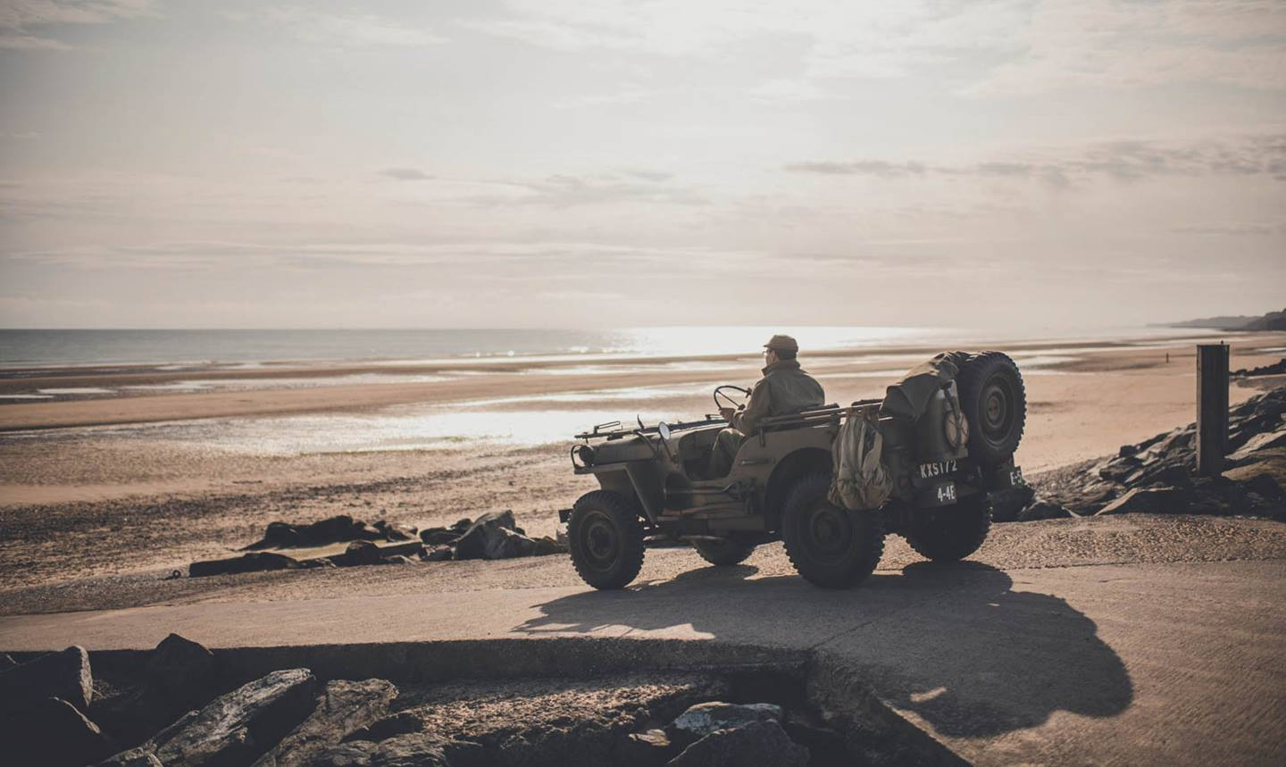75-year-old Willys rolls along the D-Day Trail