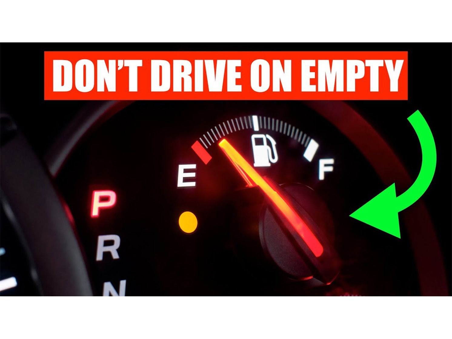Is running your gas tank to empty really that dangerous? thumbnail