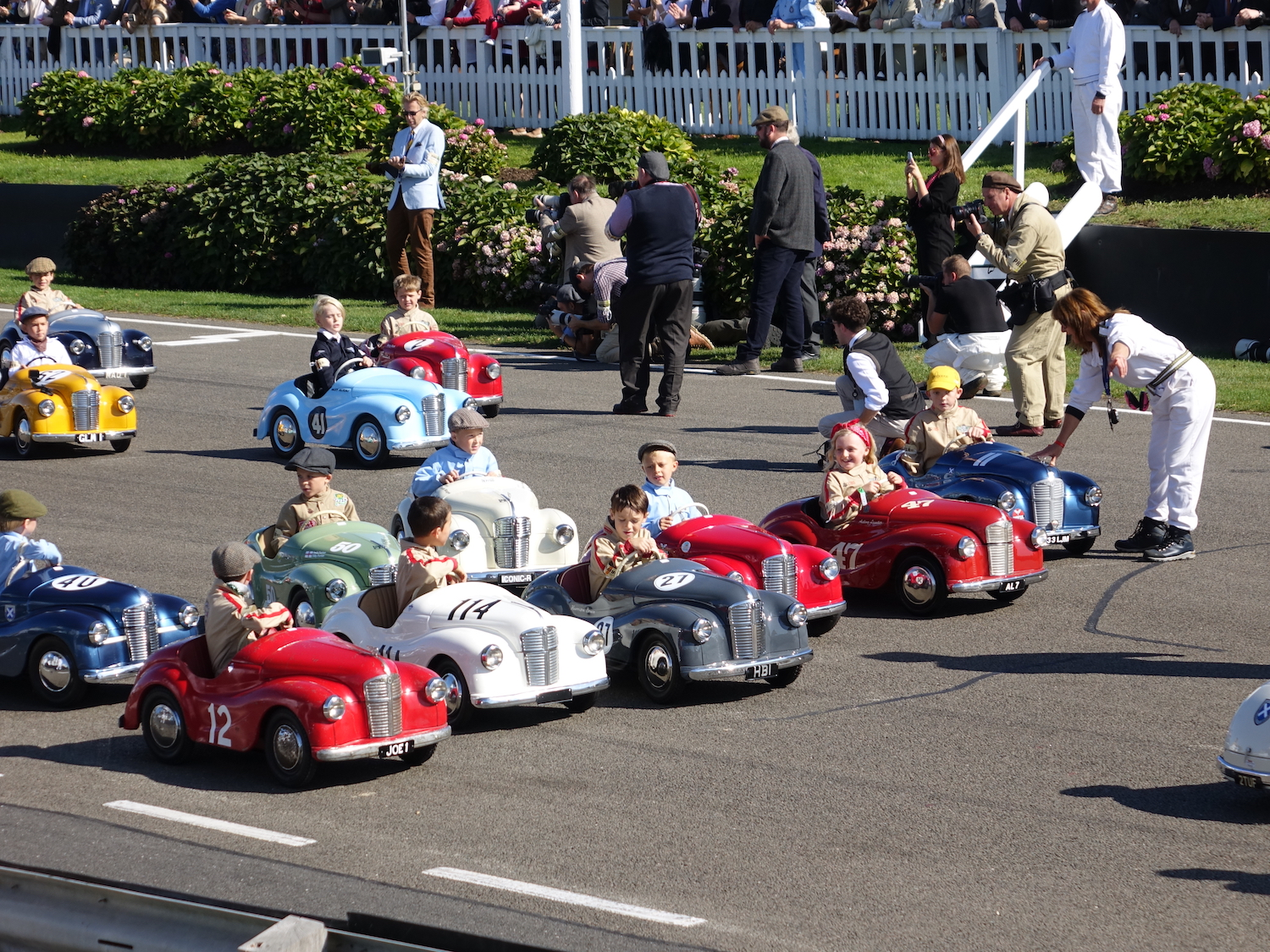 Goodwood Settrington Pedal Car Race