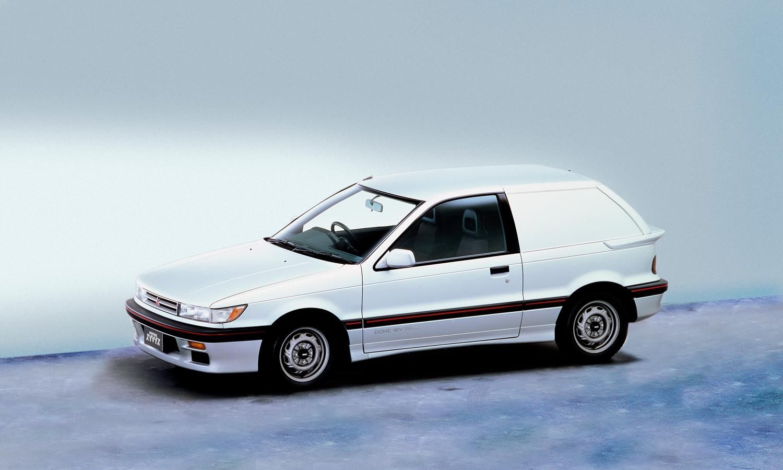 white Mitsubishi Mirage